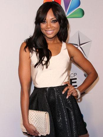 Tiffany Hines NAACP Image Awards - P 2012