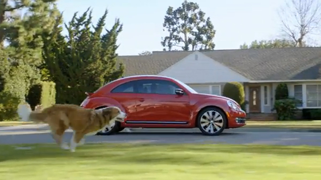 Volkswagen's 'The Dog Strikes Back' Super Bowl Commercial