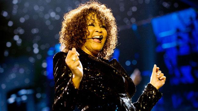Whitney Houston On Stage H 2012