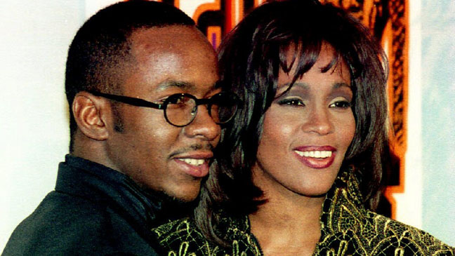 With Bobby Brown