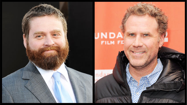 Will Ferrell Zach Galifianakis Split - H 2012