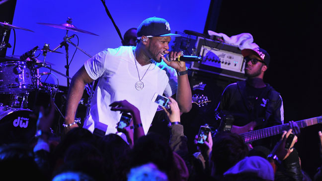 50 Cent Performing - H 2011