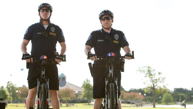 Bike-riding Cops