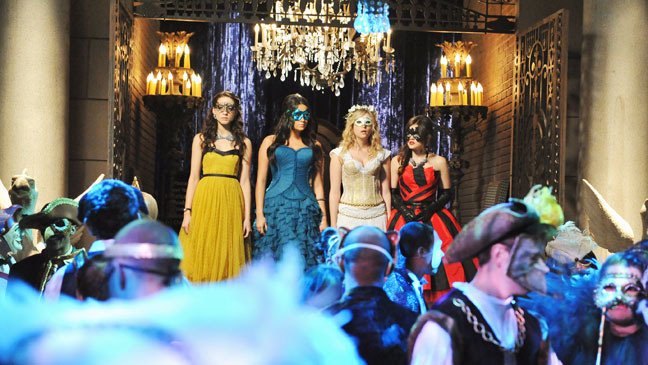 Pretty Little Liars Season 2 Finale Still Ball - H 2012