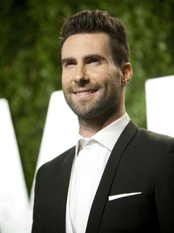 Adam Levine Vanity Fair Party - P 2012