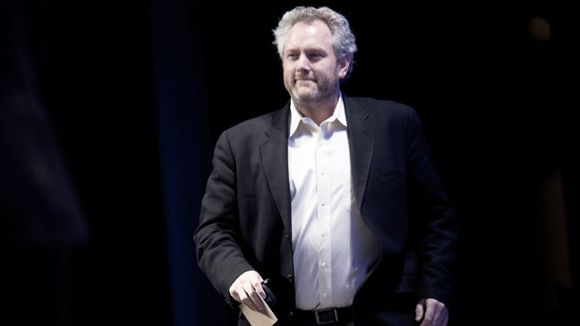 Andrew Breitbart on Stage - H 2012