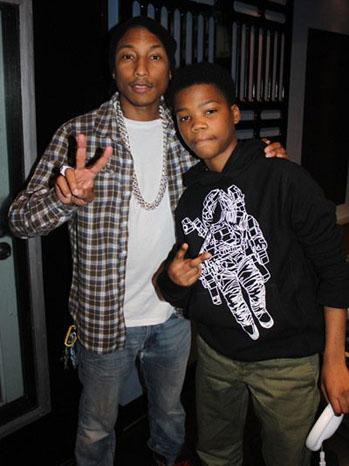 Astro and Pharrell - P 2012