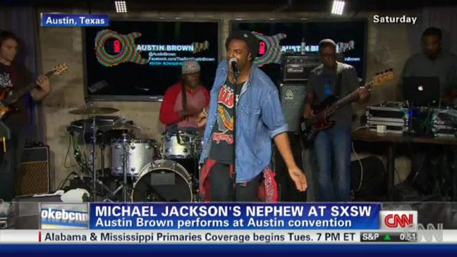 Austin Brown Michael Jackson Nephew - H 2012