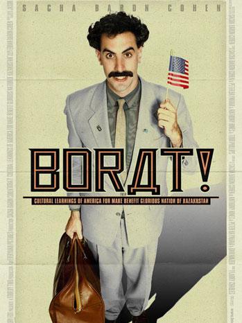 Borat poster - P