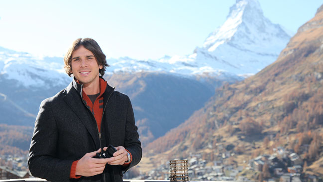 The Bachelor Fianle Ben Flajnik with Engagement Ring - H 2012