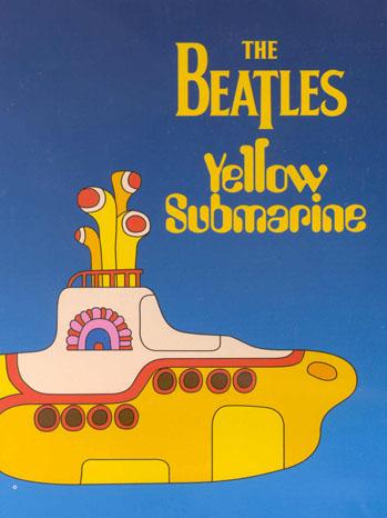 Beatles Yellow Submarine Poster Art - P 2012