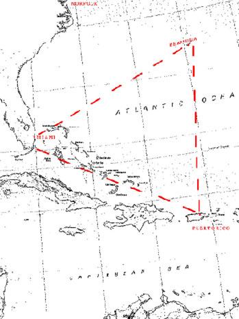 Bermuda Triangle Map - P 2012