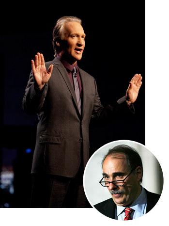 Bill Maher David Axelrod Inset - P 2012