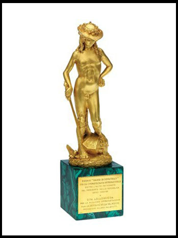 Italy David di Donatello Award - P 2012
