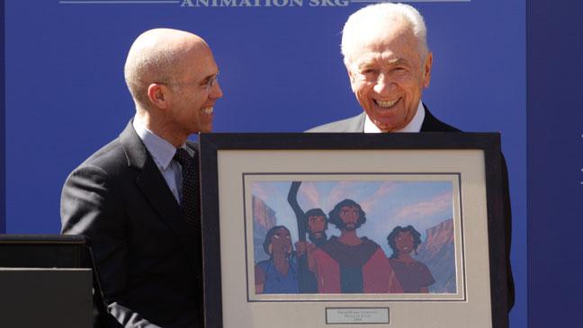 Dreamworks Animation Shimon Peres Plaque - H 2012