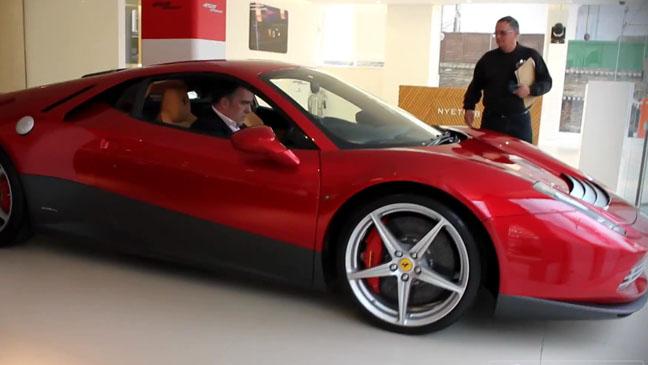 Eric Clapton Ferrari - H 2012