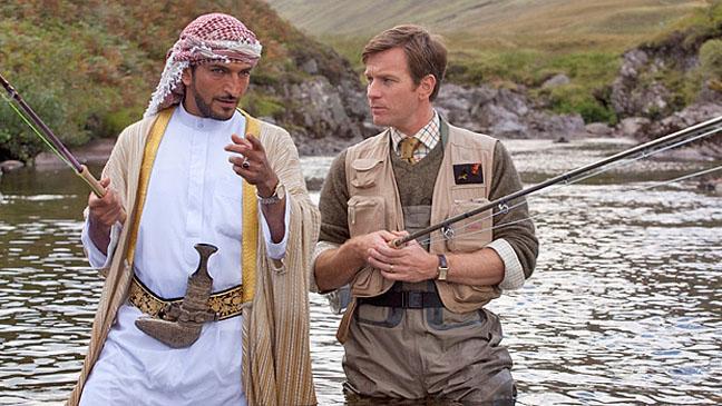Salmon Fishing in the Yemen Ewan McGregor Fishing - H 2012