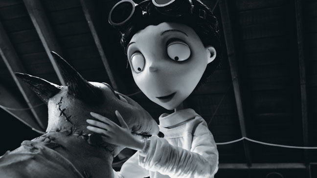 Tim Burton S Frankenweenie To Open Bfi London Film Festival Hollywood Reporter