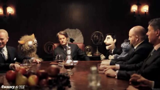 Funny or Die Goldman Sachs Muppets Screengrab - H 2012