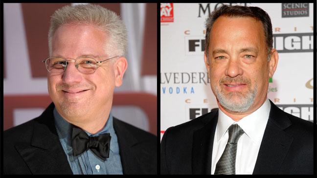 Glenn Beck Tom Hanks Split - H 2012