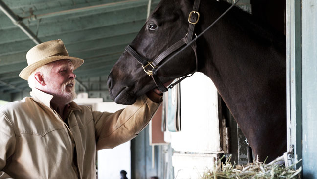 HBO Luck Nick Nolte with Horse - H 2012