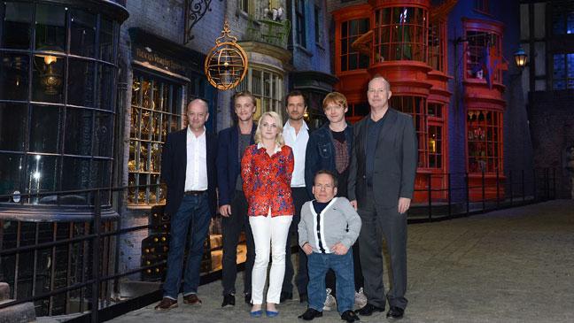 Harry Potter Studio Tour Cast - H 2012