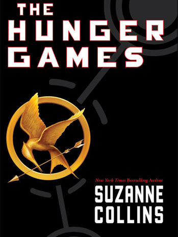 The Hunger Games Book Cover Susan Collins - P 2012