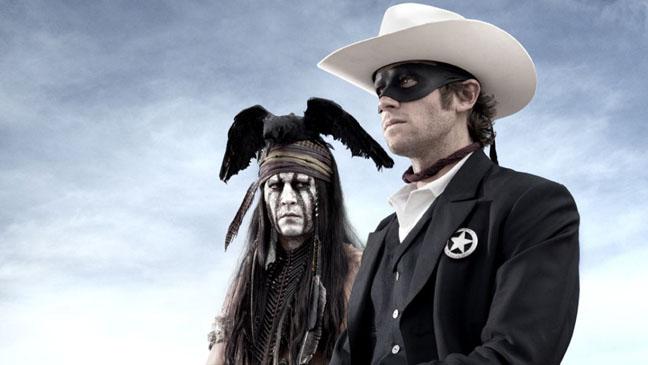 Jerry Bruckheimer Lone Ranger Tonto - H 2012