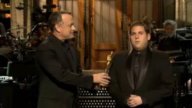 Tom Hanks and Jonah Hill