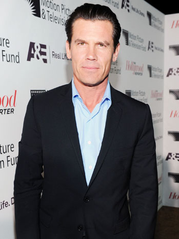 Josh Brolin Hollywood Reporter Next Gen Red Carpet - P 2012