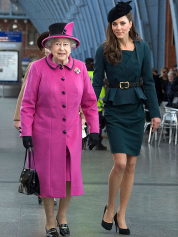 Kate and the Queen - P 2012