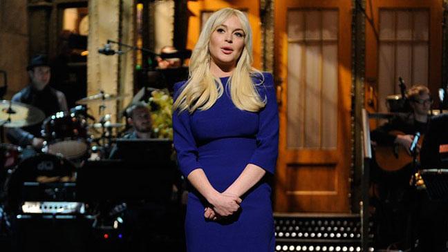 Lindsay Lohan SNL