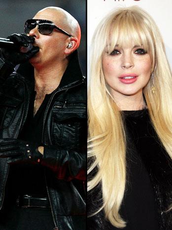 Pitbull Lindsay Lohan Split - P 2012