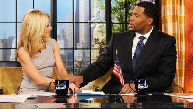 Live with Kelly Michael Strahan - H 2012