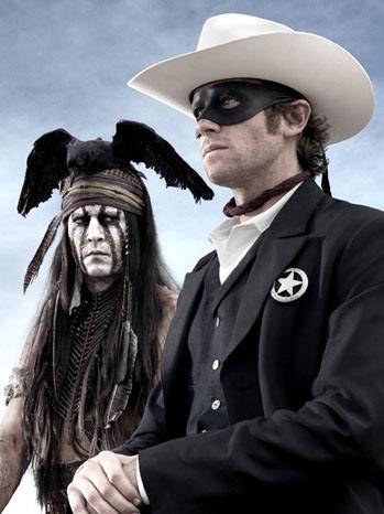 Lone Ranger Tonto Johnny Depp - P 2012
