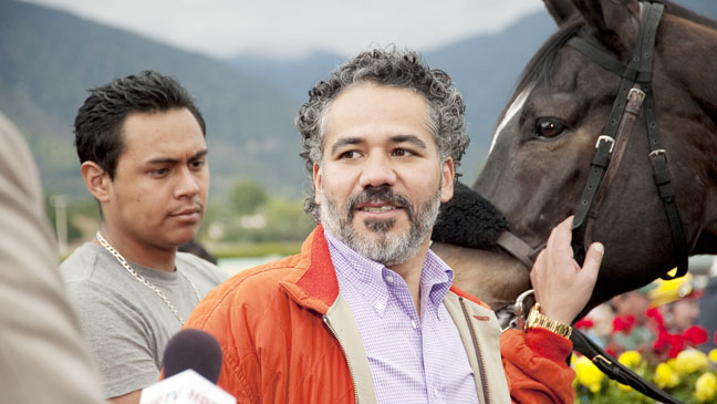 Luck John Ortiz HBO TV Still - H 2012
