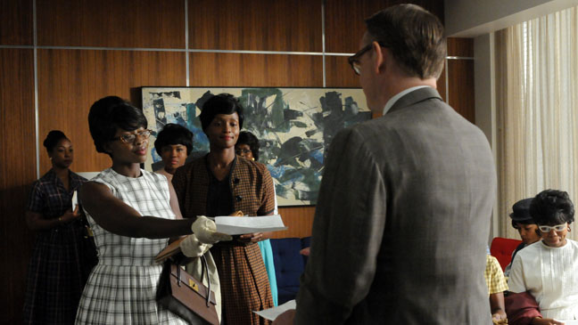 Mad Men Office Applicants Scene - H 2012