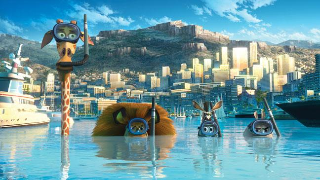 Madagascar 3 Snorkel Film Still - H 2012