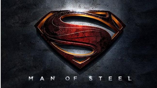 Man of Steel Logo 2012