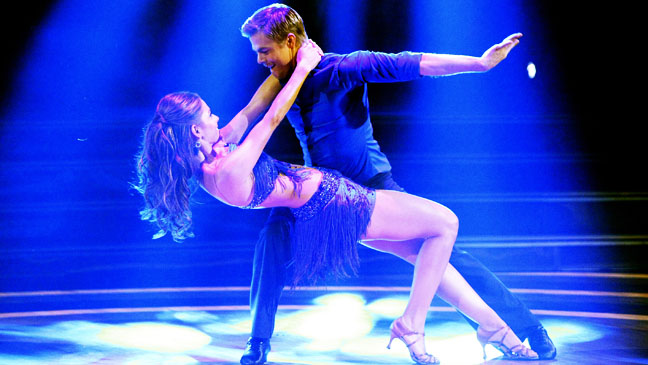 Dancing with the Stars Maria Menounos Derek Hough Cha Cha - H 2012
