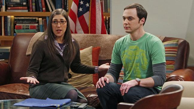 Mayim Bialik Jim Parsons Big Bang Theory - H 2012
