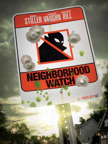Neighborhood Watch Bullets Poster - P 2012