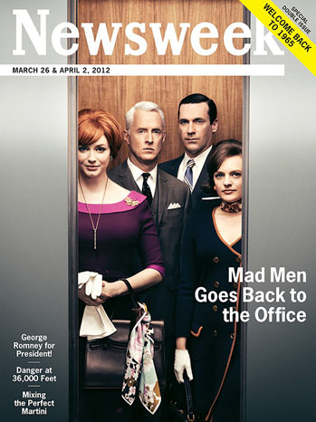 Mad Men Newsweek Cover - P 2012