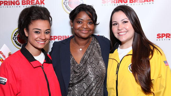 Octavia Spencer Spring Break - H 2012