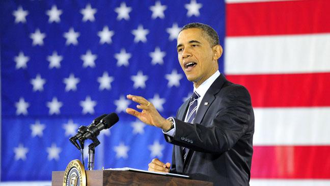 President Barack Obama Podium - H 2012
