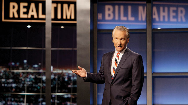Bill Maher Real Time Still - H 2012