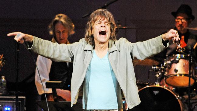 David Johansen at Rolling Stones tribute at Carnegie Hall - H 2012