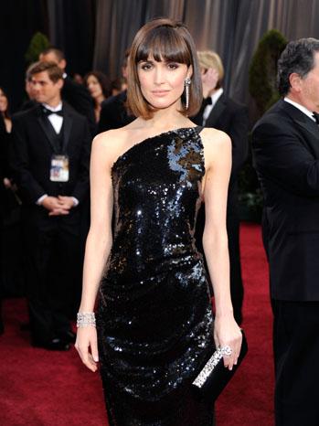 Rose Byrne Oscars Red Carpet - P 2012