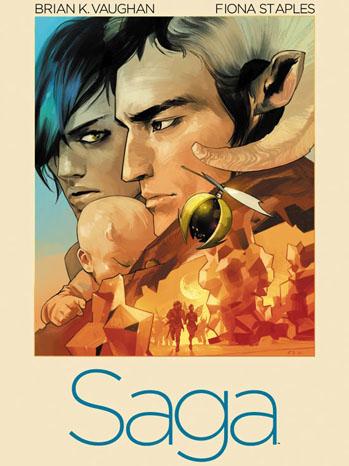 Saga Comic Book Cover - P 2012