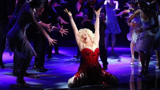 Smash Lets Be Bad Megan Hilty on stage - P 2012